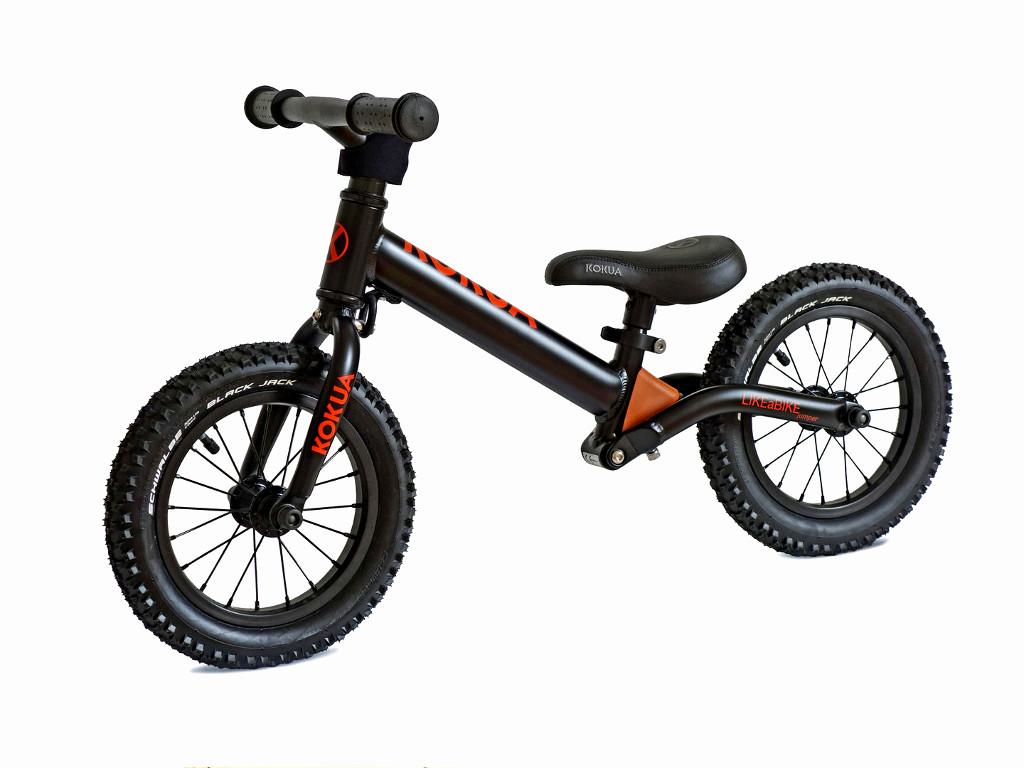 Rowerek biegowy KOKUA Jumper w kolorze czarnym