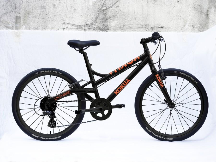 Rower dla dzieci LtB 24 Kojak black-orange